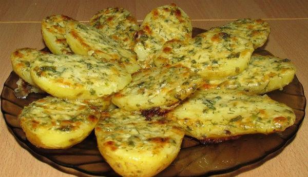 Вкуснейшая картошка в духовке — 1