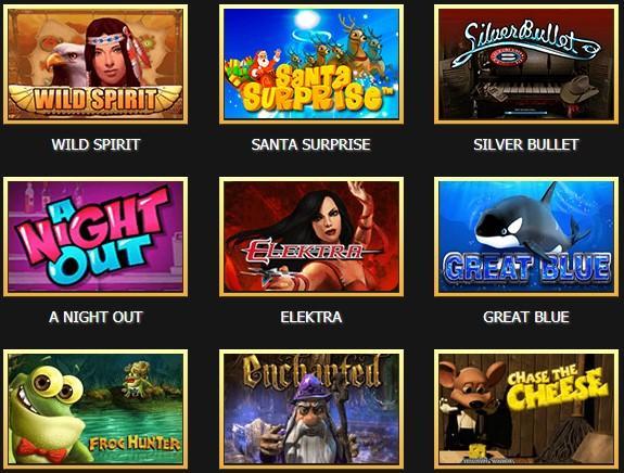 Лучшие онлайн игровые автоматы