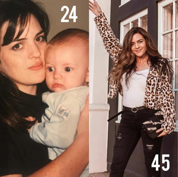 45-летняя мать семерых детей выглядит также, как и ее дочь: пользователи едва отличают их друг от друга